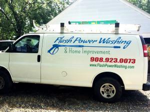 Flash Power Washing LLC Van